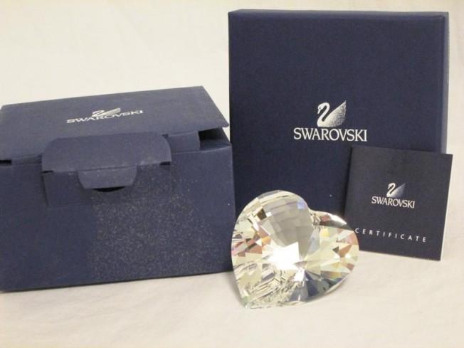 Cuore scintillante 656680 anno 2004 Swarovski