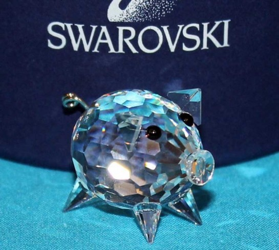 Maiale piccolo 010028 anno 2006 Swarovski