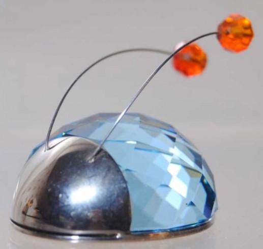 Coccinella azzurra magnete 292881 anno 2003 Swarovski