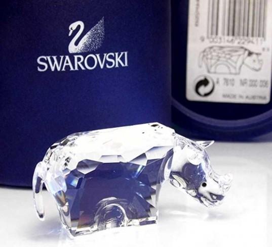 Rinoceronte 622941 anno 2006 Swarovski