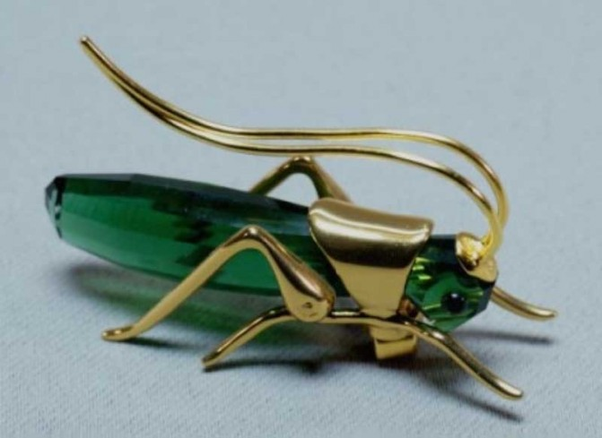 Aptera dark emerald 241913 Crystal Paradise anno 2003 Swarovski