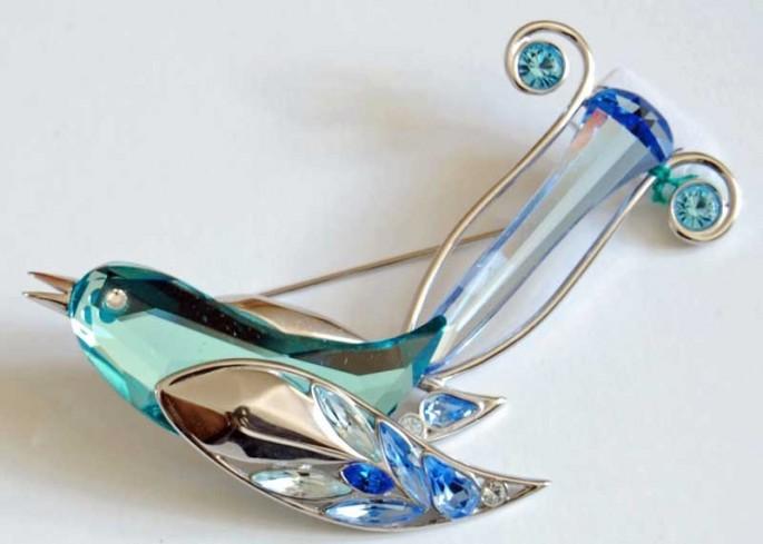 Boali Blue Zircon 276836 Crystal Paradise anno 2004 Swarovski
