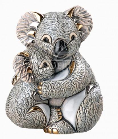 Koala mamma con cucciolo D1833 F152 De Rosa
