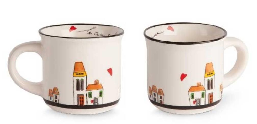 Set 2 mini mug  LCSET/4 Le casette Egan