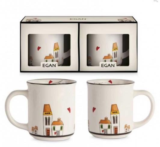 Set 2 mug LC21/2 Le casette Egan