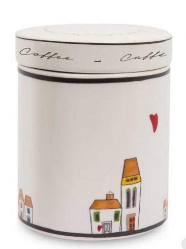 Barattolo Caffè Ø 10 cm LC02T/2CA Le casette Egan