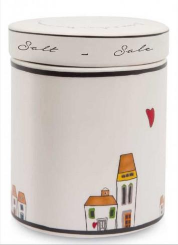 Barattolo Sale Ø 10 cm LC02T/2SA Le casette Egan