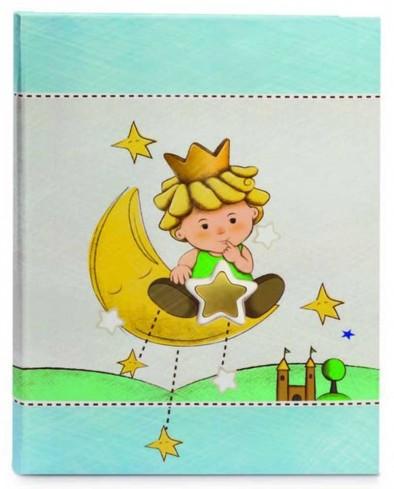 Album portafoto celeste con inserti in ceramica Piccoli Principi LP29R-3C Egan
