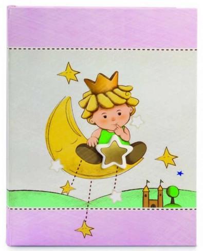 Album portafoto rosa con inserti in ceramica Piccoli Principi LP29R-3R Egan