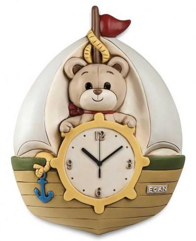 Orologio veliero Oliver 26 x 31 H. cm OL09BB/4 Il mondo di Oliver Egan