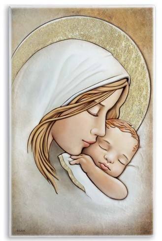 Maternità quadro d'arredo SA35C/7 Sacri Egan