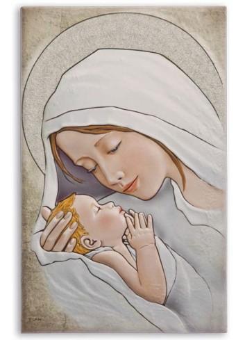 Madonna con bambino quadro d'arredo SA35F/7 Sacri Egan