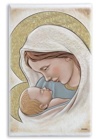Madonna con bambino quadro d'arredo SA35B/7 Sacri Egan