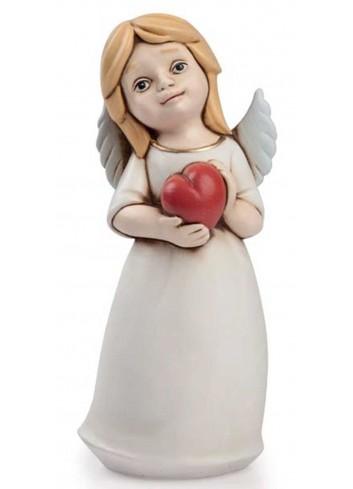 Angelo del cuore biondo rosso AN10 Angeli del cuore Egan