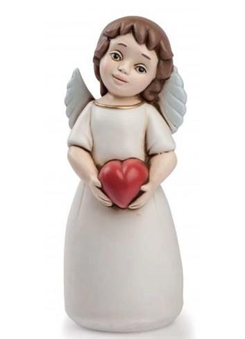 Angelo del cuore bruno rosso AN11 Angeli del cuore Egan
