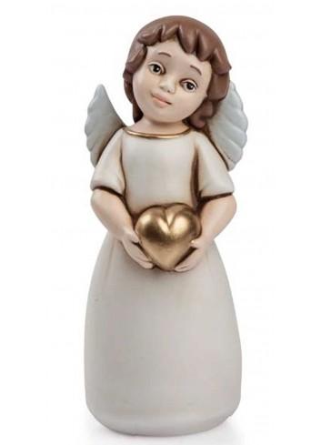 Angelo del cuore bruno oro AN03 Angeli del cuore Egan