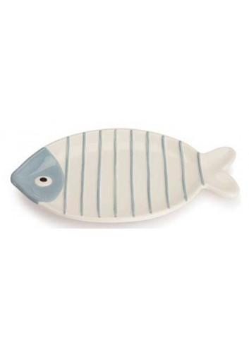Piatto ovale pesciolino bianco AQ37S/2-4 Acqua di mare Egan