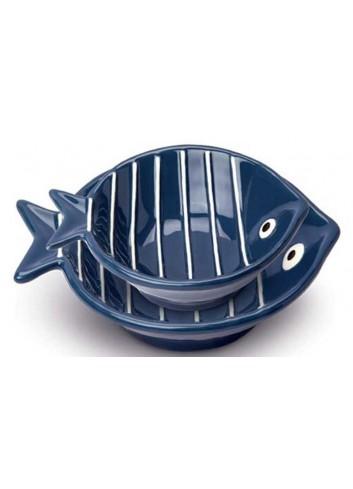 Coppetta pesciolino blu AQ91S/1B-2B Acqua di mare Egan