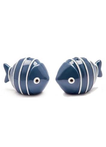 Set sale e pepe pesciolini blu AQ22S/3B Acqua di mare Egan
