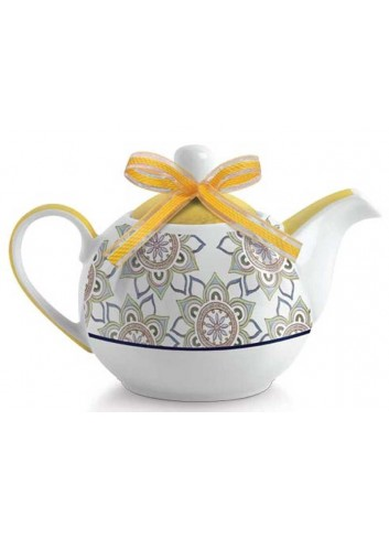 Teiera gialla La saggezza PTE81S/G Tea for Two Egan