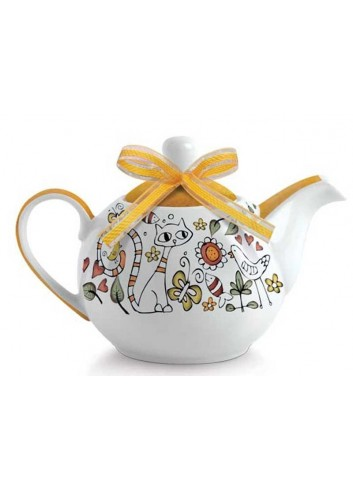 Teiera arancio La fantasia PTE81S/A Tea for Two Egan