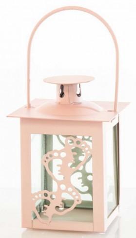 Lanterna piccola Piedini rosa E3377 Kharma Living
