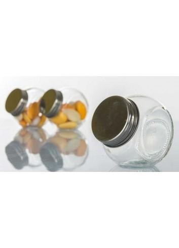 Portaconfetti in vetro con tappo a vite H2782 Kharma Living