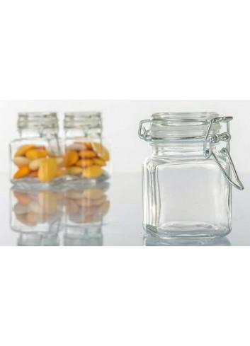 Portaconfetti in vetro con chiusura ermetica H2781 Kharma Living