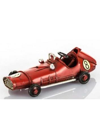 Auto da corsa rossa anni '50 L.11 cm E3218 Kharma Living