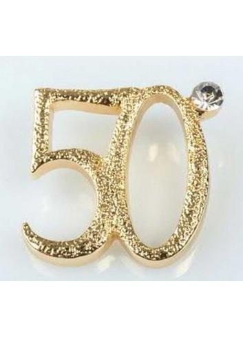 """Applicazione """"50"""" con passante per nastrino E3280 Kharma Living"""