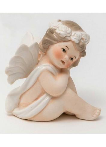 Angioletto seduto A7301 Cupido AD Emozioni