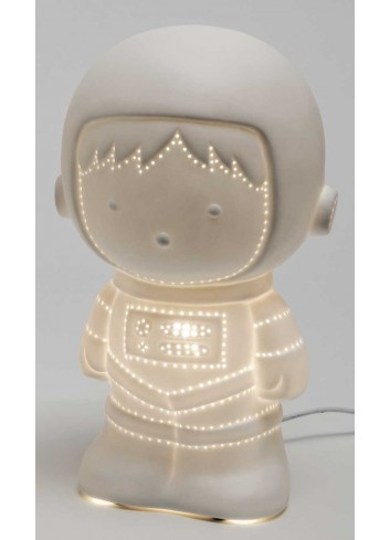 Lampada led Astronauta in porcellana A6702 Luce AD Emozioni