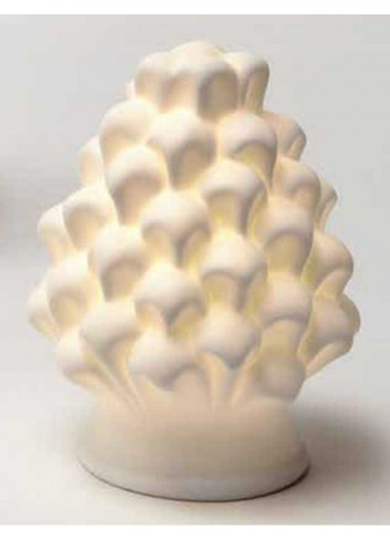 Pigna con led in porcellana A9001-2-3 Prosperity AD Emozioni