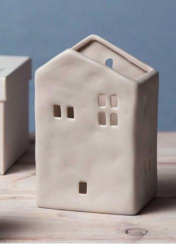 Casa portavasetto grande in porcellana A1810 Home sweet home Ad Emozioni