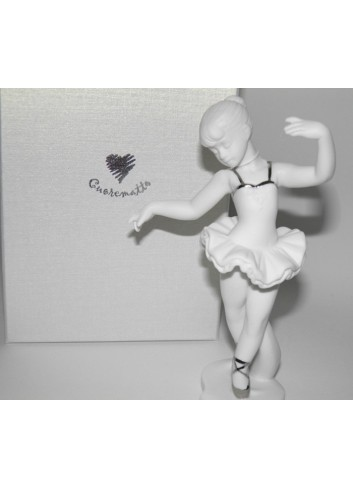 Ballerina biscuit bianco H.14 D4807 Cuorealato bomboniera solidale Cuorematto