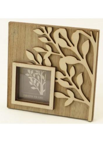Portafoto in legno 6 x 6 D5034 Cuoregaio Cuorematto