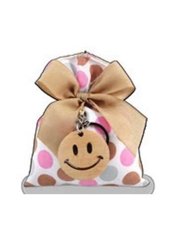 Sacchetto rosa smile D5386 Cuoresmile Cuorematto